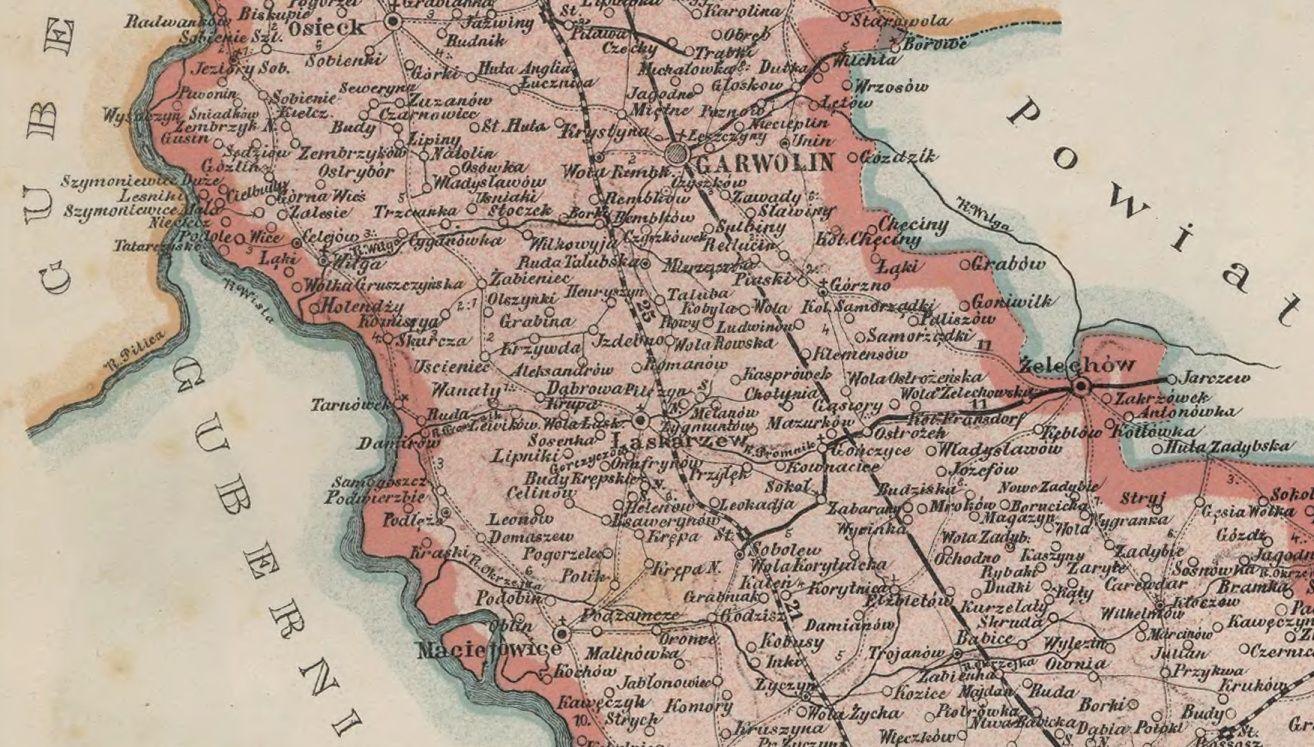mapa garwolina numer 2