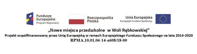 Nowe miejsca przedszkolne w Woli Rębkowskiej - banner