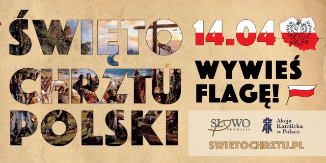 Baner Święto Chrztu Polski